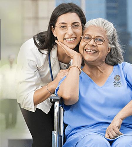 تمريض المنزلي والعلاج الطبيعي